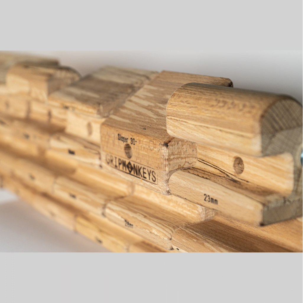 Grpmonkeys 7 segments climbing hangboard