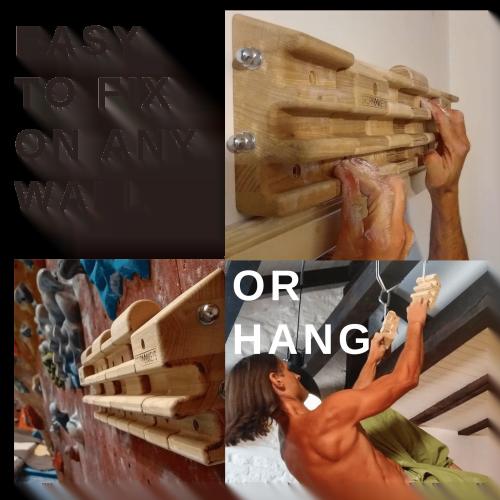 How to Install Gripmonkeys Hangboards