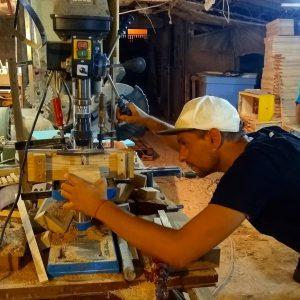Gripmonkeys Hangboard Making