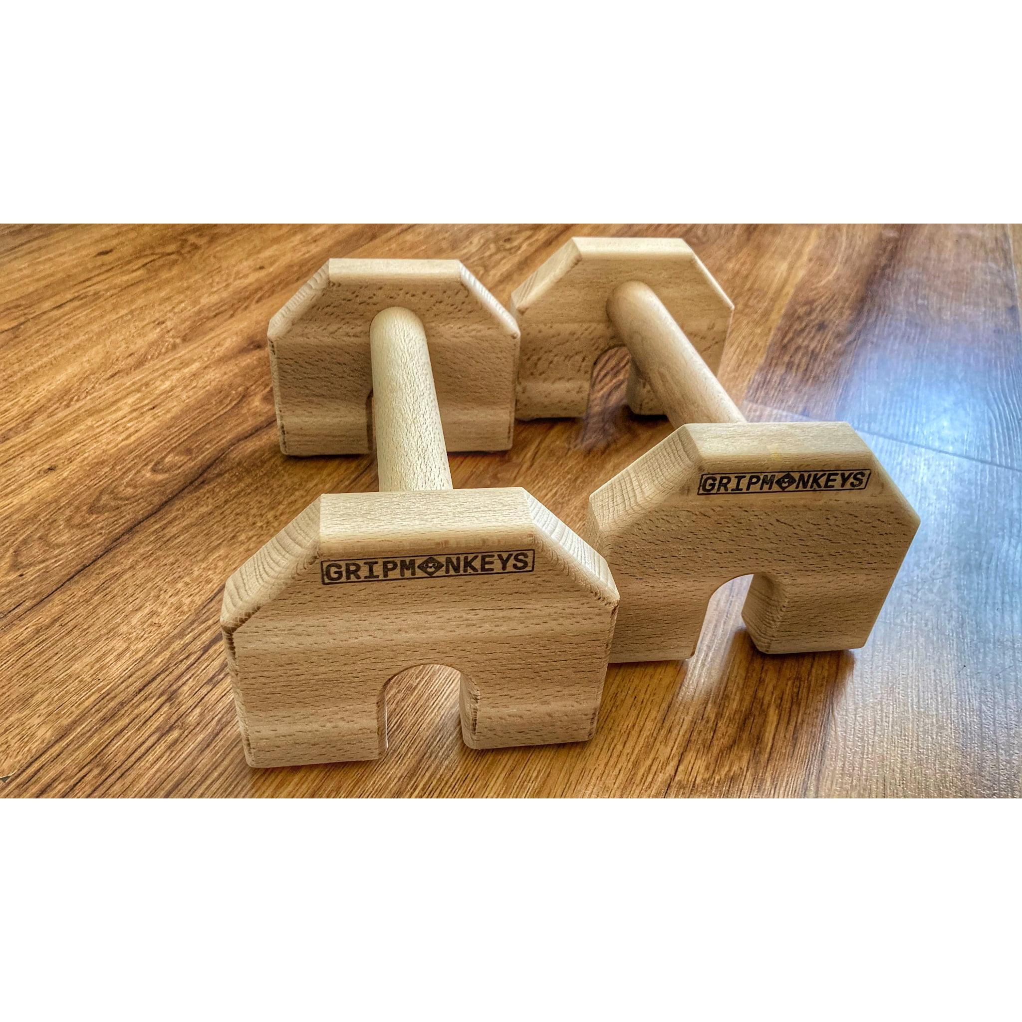 Calisthenics Wood Parallettes 25cm (1)