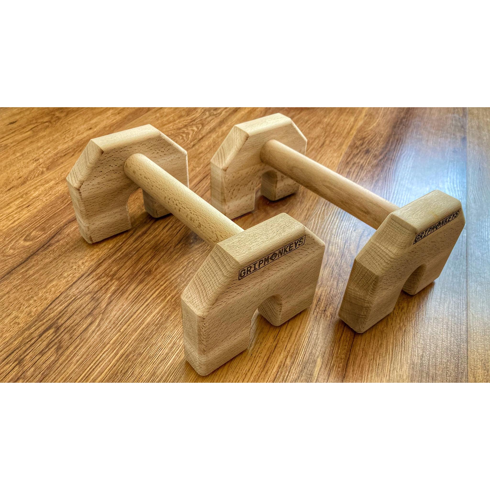 Calisthenics Wood Parallettes 25cm (2)