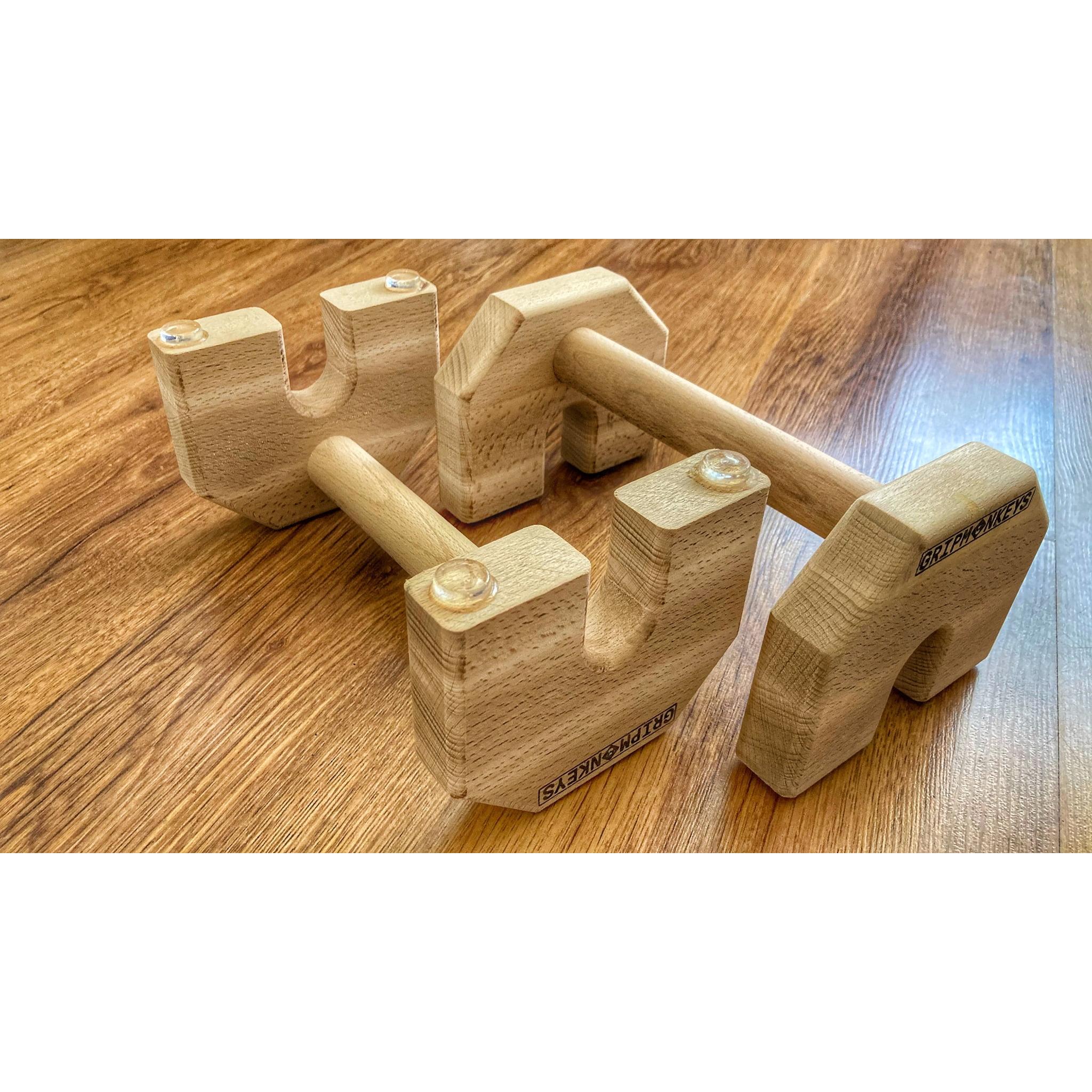 Calisthenics Wood Parallettes 25cm (3)