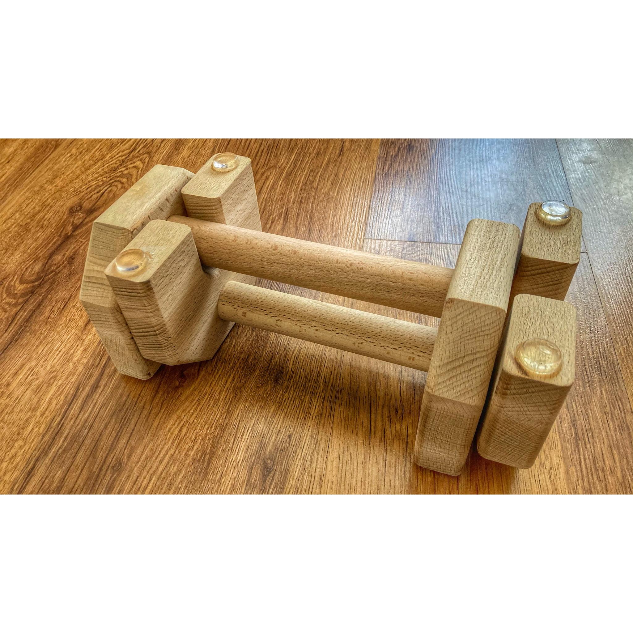 Calisthenics Wood Parallettes 25cm