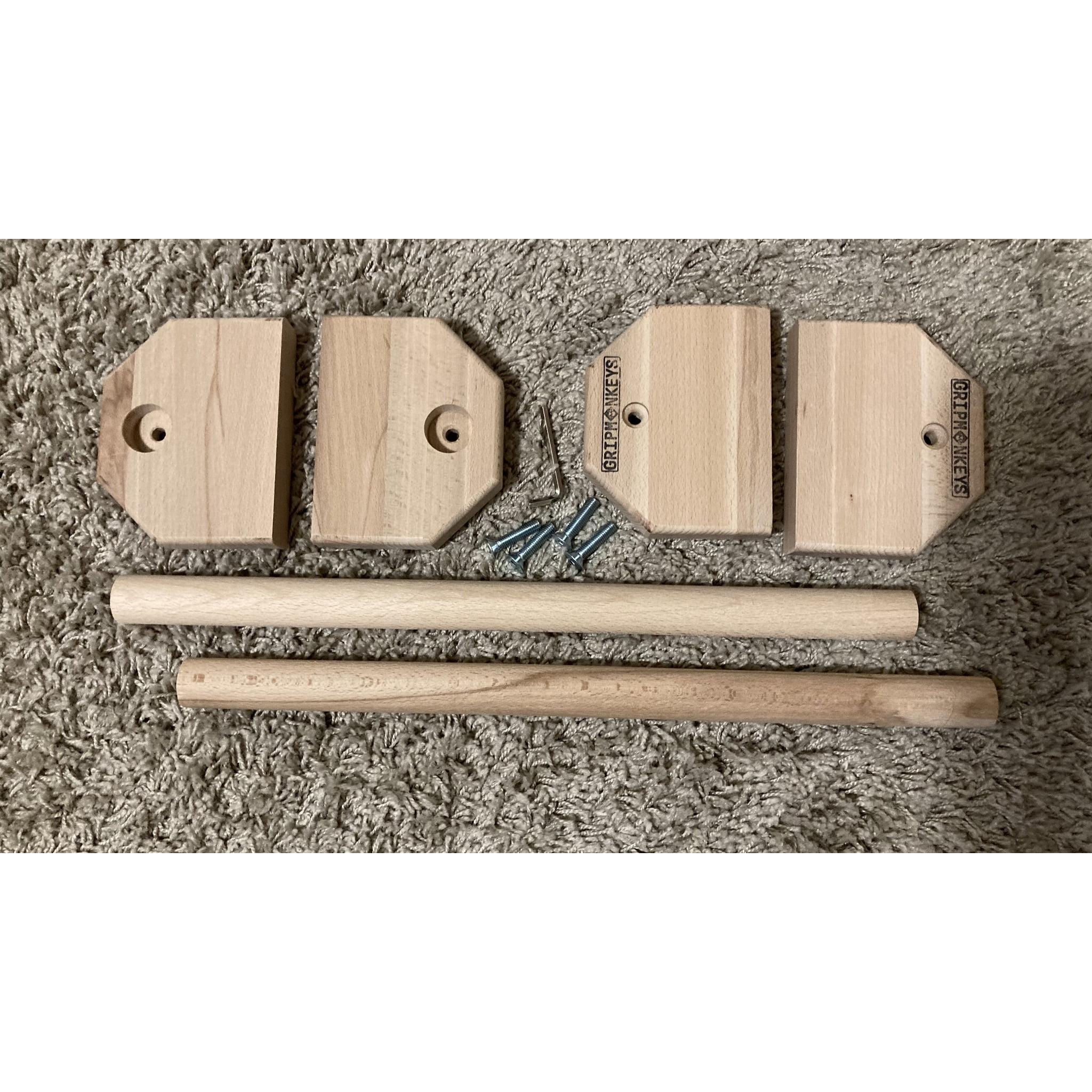 Portable Calisthenics Wood Parallettes 50cm (2)